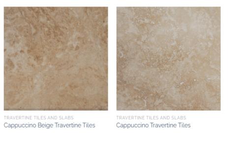Cappuccino Beige Marble Tiles