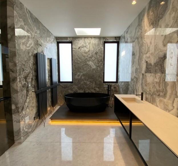 Non-Slip Bathroom Flooring