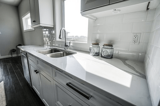 Marble Tile Counters