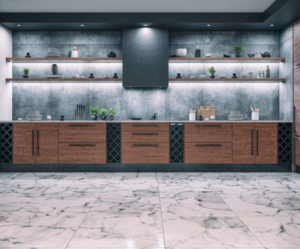 Natural Stone Tiles for Kitchen Renovation