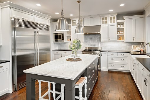Use Marble Tiles as Countertops
