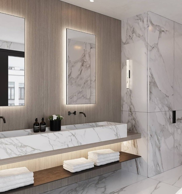 Natural Stone in your bathroom in 2021