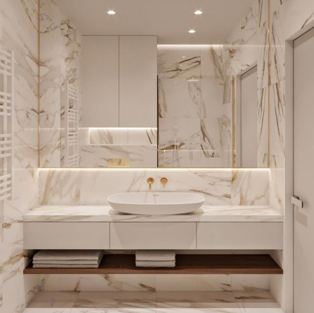 Benefits of using Natural Stone in your bathroom